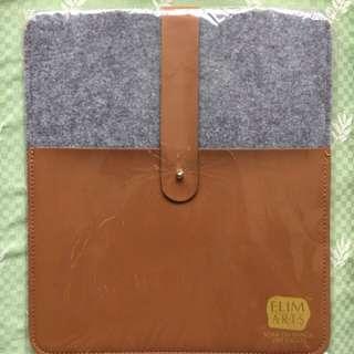 iPad絨布+皮套
