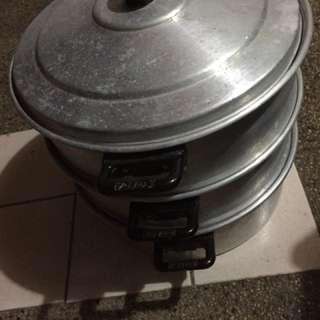 Aluminum Steamer