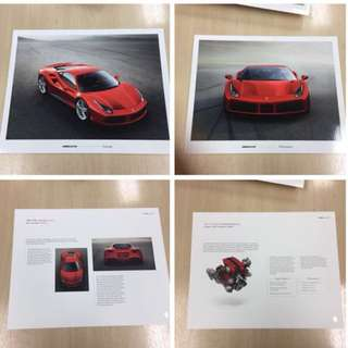 Official Ferrari Showroom 488 GTB Package