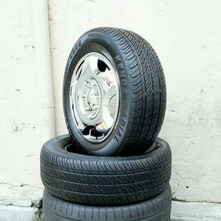Used 215/65 R16(Sold) Kenda (2pcs) 🙋‍♂️