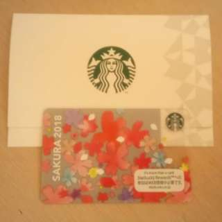 Starbucks Japan Sakura 2018 Card