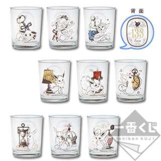 Pokemon Ichiban Kuji Eevee & Antique Prize E - Glass