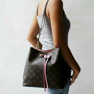 PO LV Neo Neo bucket sling bag in BabyPink * waiting time 2-3days after payment is made * pm to order