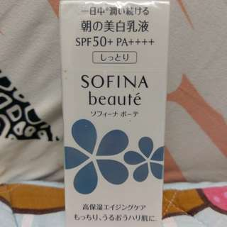 Sofina Beaute Whitening UV Cut Emulsion 美白活膚全效防曬乳液 SPF 50+ PA++++ 32ml
