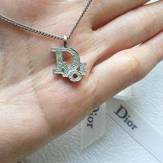 AUTHENTIC DIOR Rhinestones Necklace