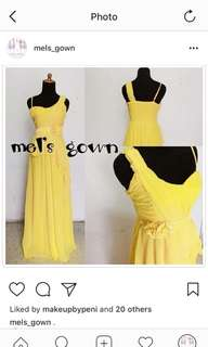 Bridesmaid Gown ML-004