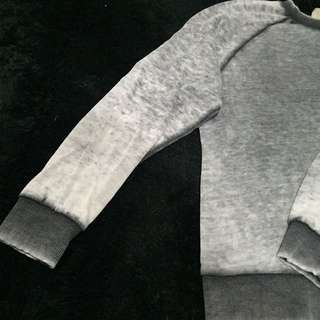 Grey Sweater Zara Trafaluc