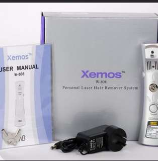 Xemos Personal Laser Hair Removal