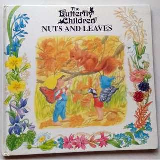 Story Book - The Butterfly Children - Nuts and Leaves