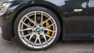 Breyton Gts 19 inch with tyres (5 x 120)