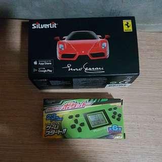 Silverlit Ferrari 遙控車 + 迷你遊戲機