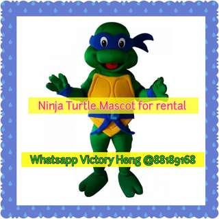 Ninja Turtle Mascot for rental