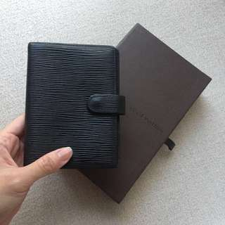 AUTHENTIC LV LOUIS VUITTON Agenda /Day Planner /Organizer /Passport Holder