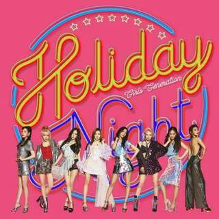 SNSD HOLIDAY NIGHT - 6th Album