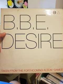 Vinyl BBE - Desire