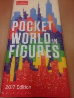 The Economist: Pocket World in Figures 2017 Edition (hardcover)
