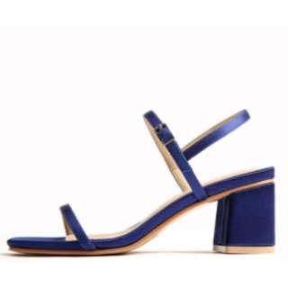 TAOBAO Heeled Satin Sandals