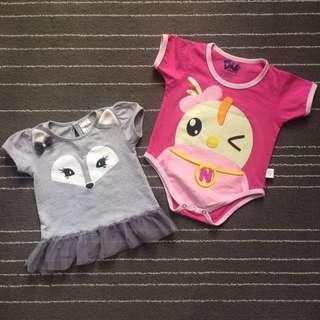 ♻️DIDI & FRIENDS® Baby Romper ; ASSIGN Baby® tops
