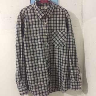 Button Down : Long Sleeve Polo