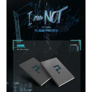 STRAY KIDS - I AM NOT (PREORDER ALBUM)