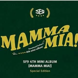 SF9 - MAMMA MIA SPECIAL EDITION (PREORDER)