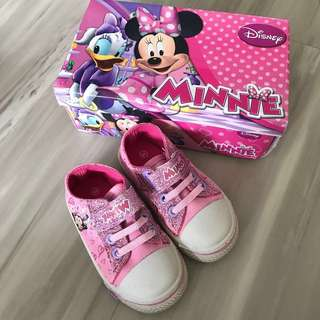 Minnie Mouse Sneakers Size 23 (16cm)