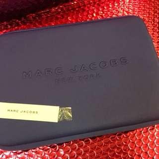 Marc Jacobs cobalt Blue wetsuit  clutch/iPad case
