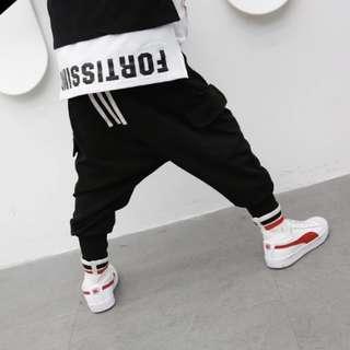 Kids fashion Streetwear jogger pants