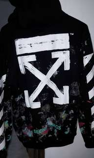 Off White Galaxy hoodie