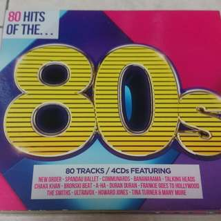 80 Hits Of The 80's - 4 Cds