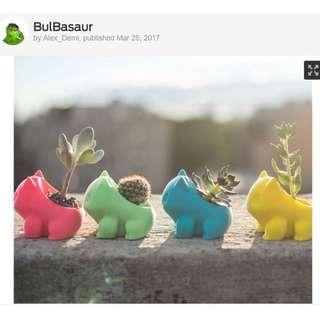 Bulbasaur Pot #Gardening #cactus #Plant #Flower #Creative