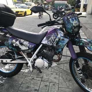 Honda XLR 200cc Scrambler