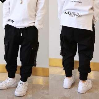 Kids fashion jogger cargo pants