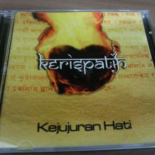 Original CD Album Kejujuran Hati by Kerispatih