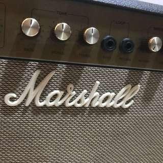 Marshall vintage tube amp