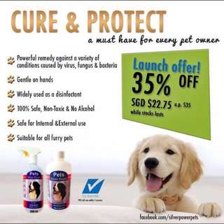 *PROMO* Colloidal Silver for Pets!