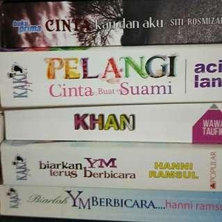 Malay Novel. $6 - $10