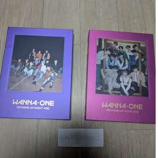 Wanna One Nothing Without You (Album only)