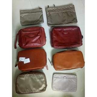 每個$480, 100% 新 Porter Tokyo , Made in Japan real genuine leather pouch