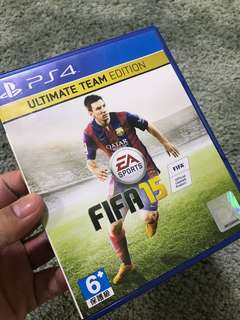 PS4 FIFA 15, Ultimate Team Edition