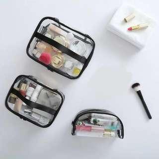 Transparent Makeup Case