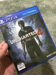 PS4 Uncharted 4, A Thief's End