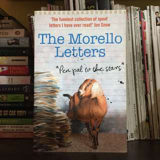 THE MORELLO LETTERS by Duncan McNair