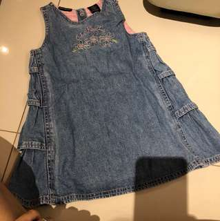 Calvin Klein Jeans embroidered dress