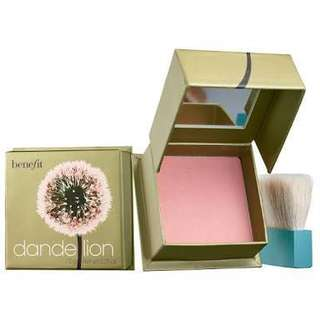 BRAND NEW Benefit Dandelion Blush Mini