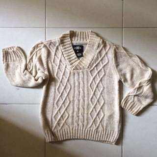♻️H&M® baby boys cable-knit sweater