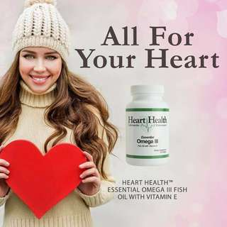 Essential Omega III Fish Oil with Vitamin E - Heart Health