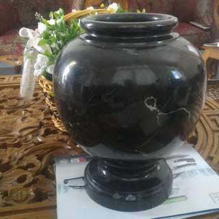 Langkawi Black Marble Vase