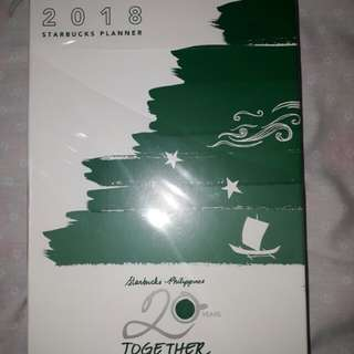 REPRICED Starbucks 2018 Planner