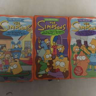 Simpsons VHS vintage classic